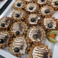 Sidruni-mooni tartalett merenguega (30 gr)