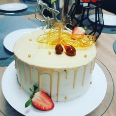 Porgandi tort hapukoore kreemiga. (1 kg)