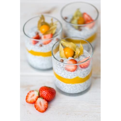 Chia seemned naturaalse jogurtiga mangoga (1tk/190 gr)