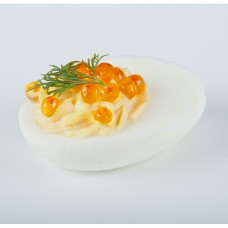 Täidetud munad soolalõhe ja kalamarjaga 1tk