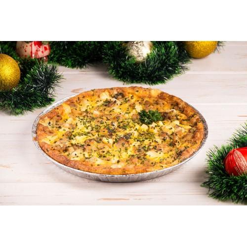 Quiche kana-sinihallitusjuustu ja ananassiga (1tk/650 gr)